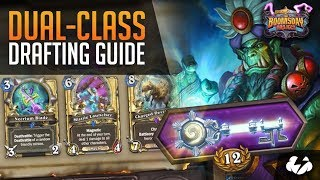 A 12-Win Draft Walkthrough For Dual Class Arena | Hearthstone | [The Boomsday Project]