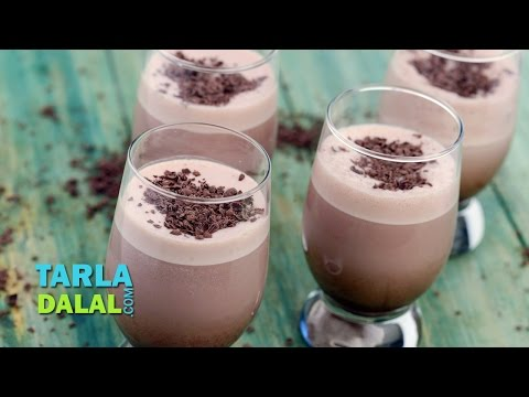 Cold Cocoa Milkshake by Tarla Dalal
