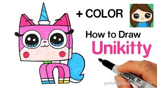 How to Draw Unikitty Easy