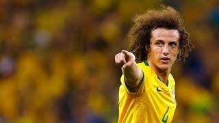 David Luiz Amazing Goal (0-1)   Austria vs Brazil 1-2 Friendly 18.11.2014