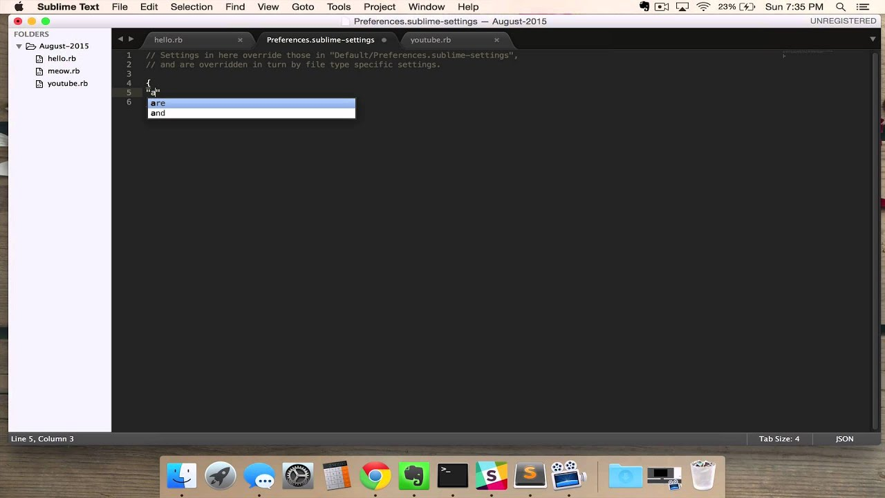 Setting Up Autosave In Sublime Text 3 Tutorial