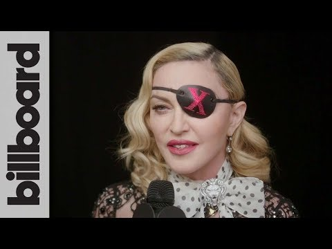 Madonna On New Album 'Madame X,' Working With Maluma & Swae Lee | Backstage Interview | BBMAs 2019