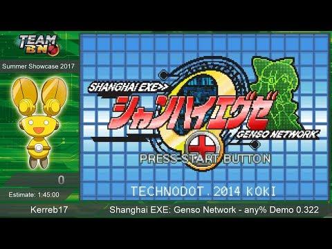 Shanghai EXE: Genso Network any% Speedrun by Kerreb17 ~ TeamBN's Summer Showcase 2017