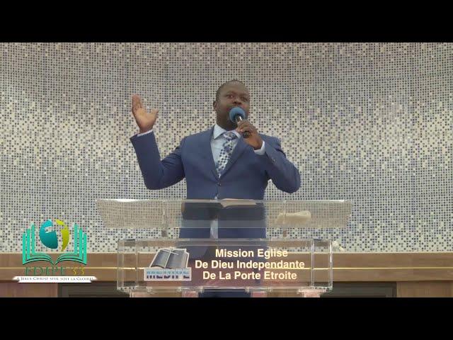 Message du midi à ne pas rater | C'est par Grâce ... (Ephésiens 2: 8) | Pasteur Gamaniel MAURIVAL