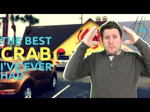 Best Crab Ever! Daytona, Florida
