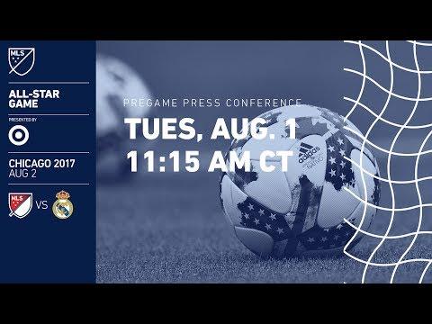 Pregame Press Conference | MLS All-Star 2017