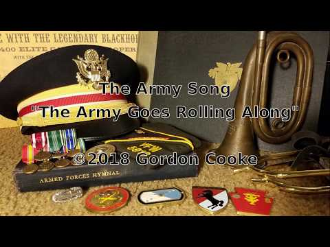 The Army Song (US Army official song)