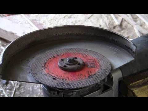 How To Free Up An Angle Grinder Disc That's REALLY Stuck