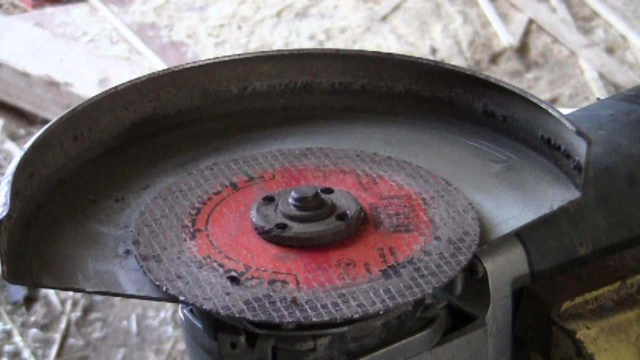 How To Free Up An Angle Grinder Disc That S Really Stuck