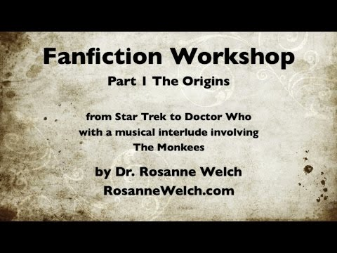 Fanfiction Workshop with Dr. Rosanne Welch and Dr. Melissa D. Aaron at Cal Poly Pomona
