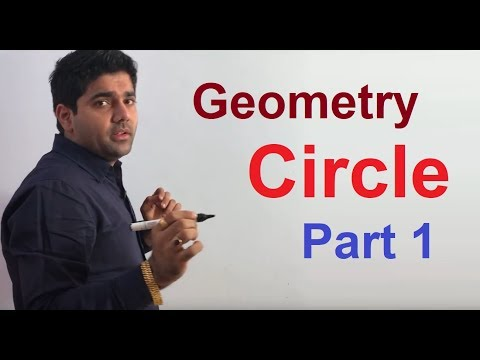 Geometry Part 30 Circle Part - 1 By Abhinay Sharma (Abhinay Maths)