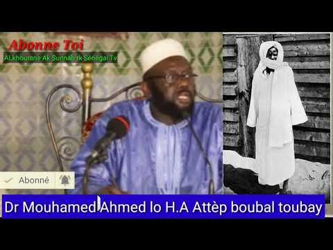 | Dr. Muhammad Ahmad LÔ (H.A) PANTALON SOUS LES CHEVILLES OU QAMIS ? Attèp boubal toubay.........