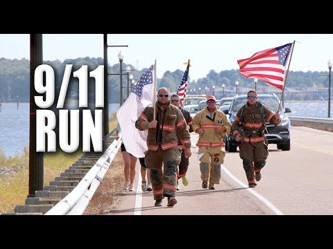 Mississippi Firefighters Honor 9/11 Heroes with 11-Mile Run