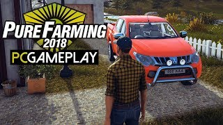 Pure Farming 2018 Gameplay (PC HD)