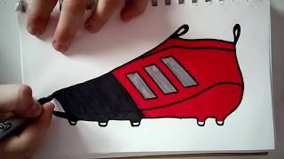 Adidas ace purecontrol 17 how to draw