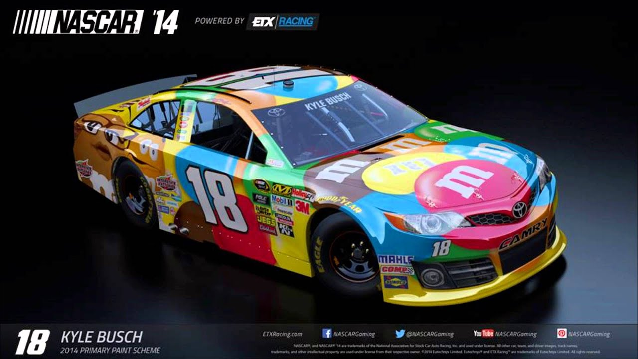 Nascar The Game 2014 Paint Schemes | www.pixshark.com ...
