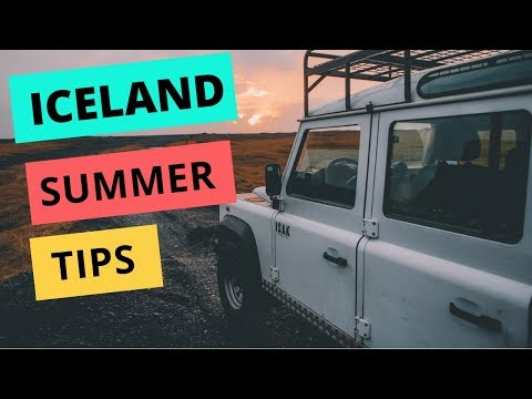 Summer in Iceland: Weather + Daylight Hours