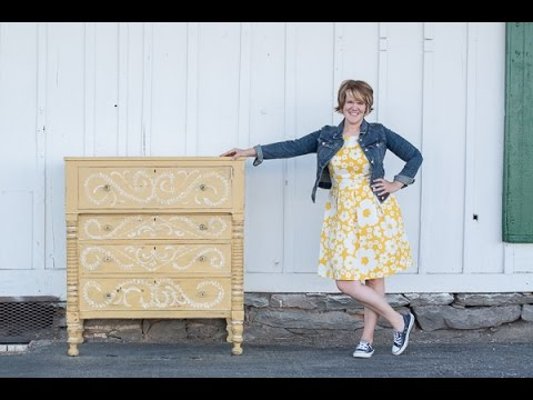 Miss Mustard Seedu0027s Milk Paint | The Yellow Dresser   YouTube