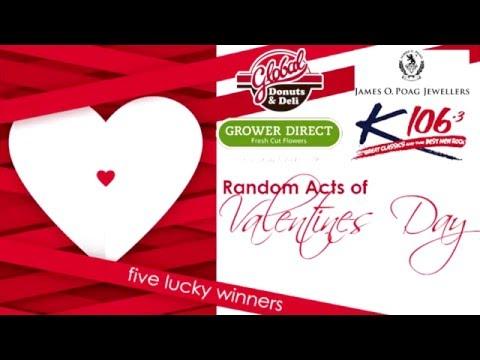 K106.3 Random Acts of Valentines 2016