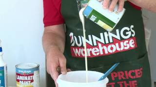 How To Paint Laminate Cabinets - Diy At Bunnings