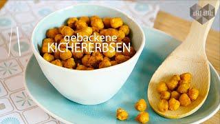 Pikante Kichererbsen aus dem Ofen (vegan, low carb, glutenfrei, laktosefrei)