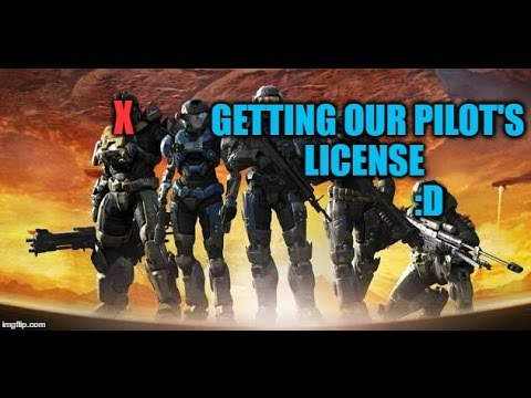 """""""Getting our Pilot's License""""-Halo Reach Co-Op #5"""