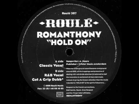 Romanthony hold on vocal house classic youtube for Classic house vocals