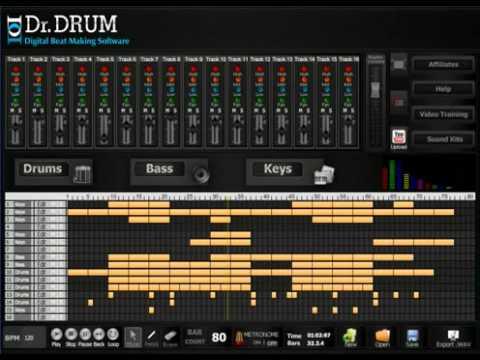 dr drum beat maker review 2016 dr drum digital beat making software youtube. Black Bedroom Furniture Sets. Home Design Ideas