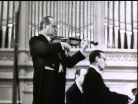 "David Oistrakh - Schubert Sonata ""Duo"" in A major, 1. Allegro moderato"