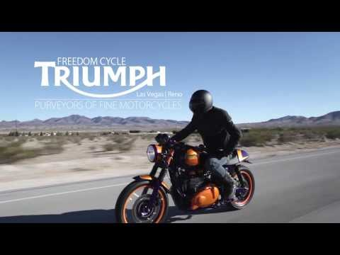 Project Thruxton - Freedom Cycle Triumph Las Vegas - Custom Build