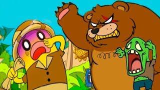 Кид и ПУТЕШЕСТВИЕ БАНАНА #2 Приключение смешной игры BANATOON Treasure hunt Поиск сокровищ