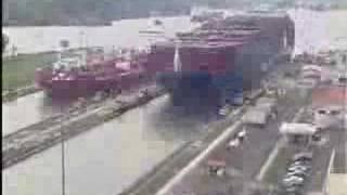 Canal do Panama em 1 minuto 12 horas...