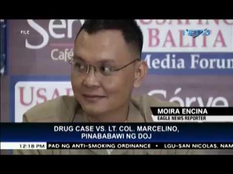 DOJ, ibinasura ang P380-mn na drug case laban kay Lt. Col. Marcelino, Chinese national