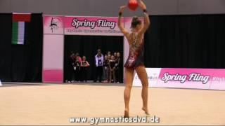 Nicole Sladkov - Level 10 Senior 06 - Spring Fling Columbus 2016