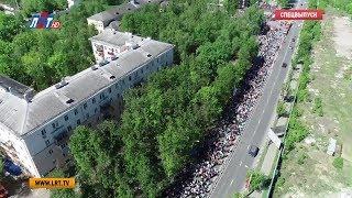 Парад прошел в Люберцах в День Победы