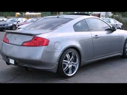 2006 infiniti g35 coupe manual in union city ga 30291 youtube. Black Bedroom Furniture Sets. Home Design Ideas