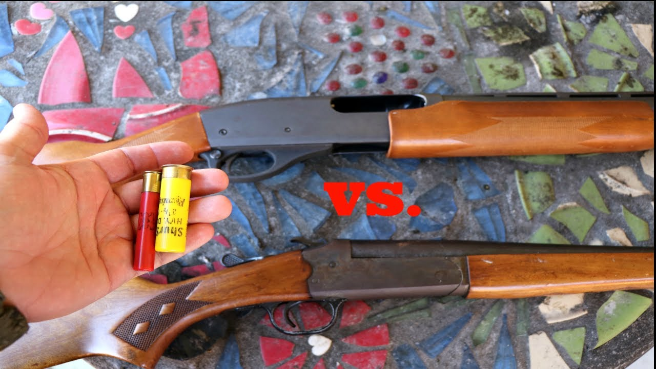 Shotgun for hunting, for and against 62