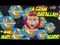 LA GRAN BATALLA DE TEAMS!! | Agar.io | +44000 PUNTOS | Rubinho vlc | AGARIO