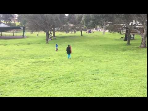 Shaun in Reservoir Park