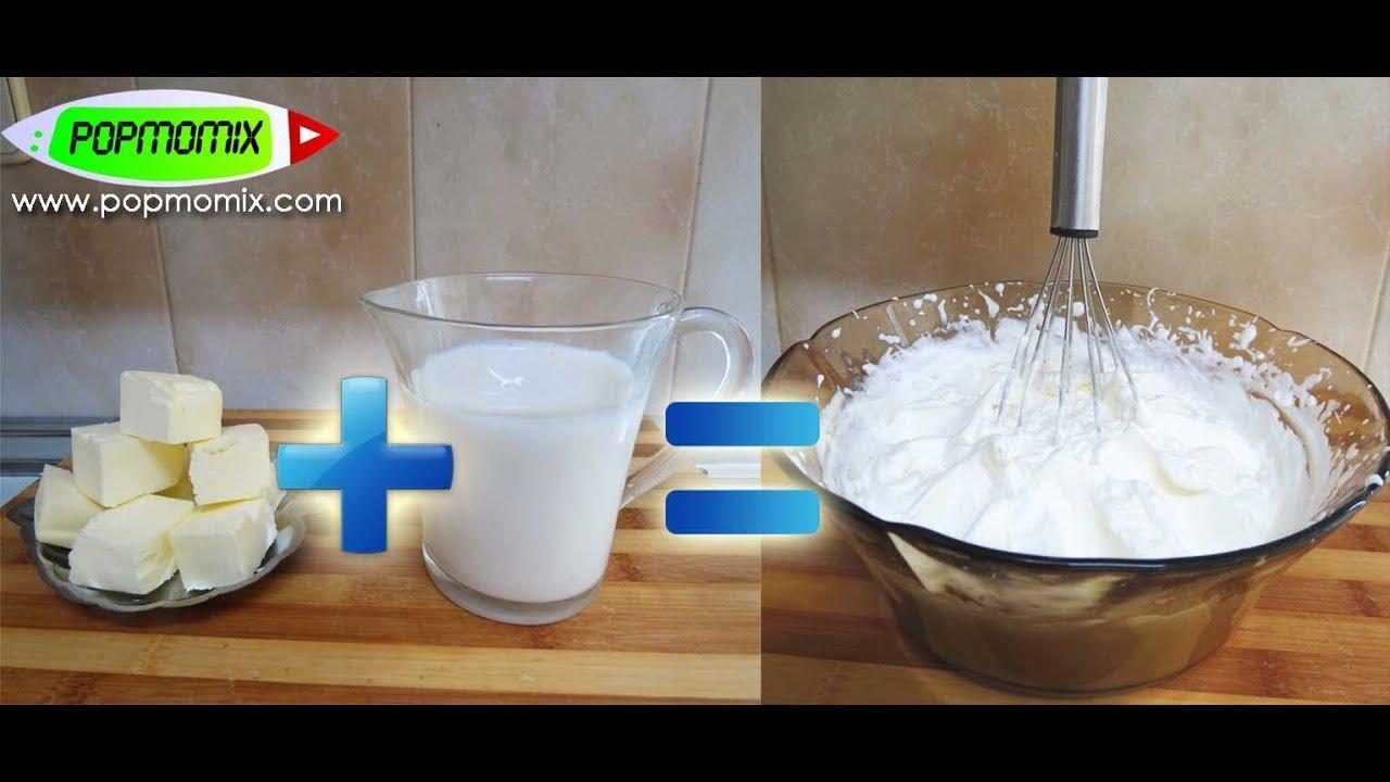 Truco thermomix como hacer nata para montar casera con - Nata liquida para postres ...