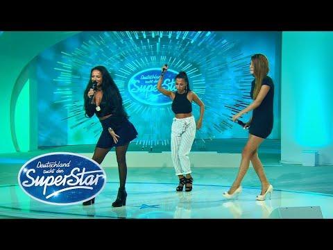DSDS 2018   Gruppe 12 - Emilija, Jessica, Toranj mit 'Don't Cha' von den Pussycat Dolls