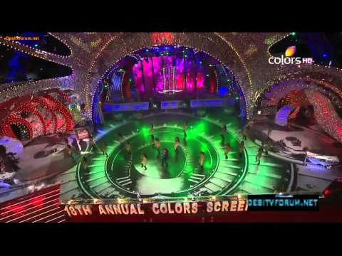Anushka Sharma Dance Performance On Thug Le !! 18th Annual Colors Screen Awards (2012)