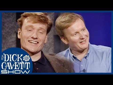 Conan O'Brien & Steve O'Donnell From Harvard To Comedy   The Dick Cavett Show