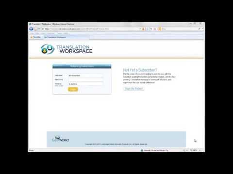 2_Tenancy Assets setup_Introduction to Translation Workspace