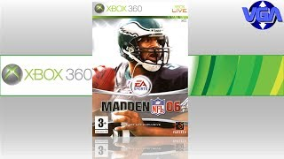 Madden 06 Gameplay Ps3 Xbox 360 ( 2005 )