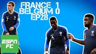 Episode 28: France beats Belgium in World Cup semifinals, and fans rejoice | Project: Russia | ESPN thumbnail