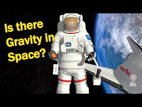 Is There Gravity in Space? - Newton's Law of Universal Gravitation by Professor Mac - Part 2