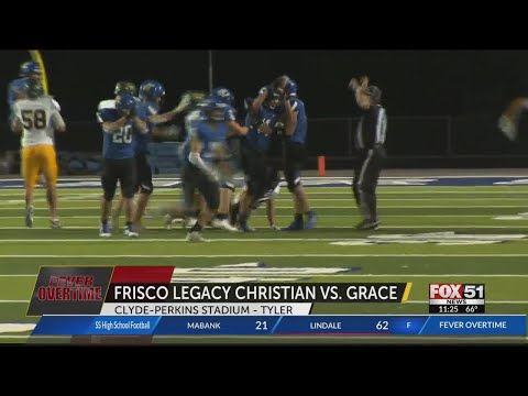 FRISCO LEGACY CHRISTIAN VS GRACE 21-42