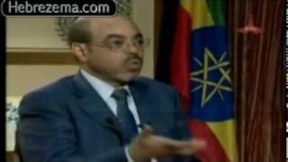 PM Meles Zenawi Interview with Egyptian TV on Nile Issu part 3 of 4 www.hebrezema.info
