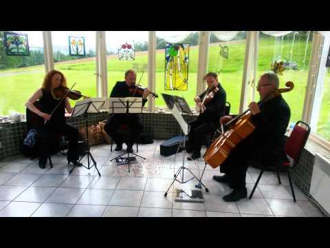 A short clip by The Quartet - Mozart Divertimento in D.